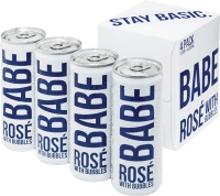 White Girl Wine - Babe Rose 4pk Cans NV (4 pack cans)