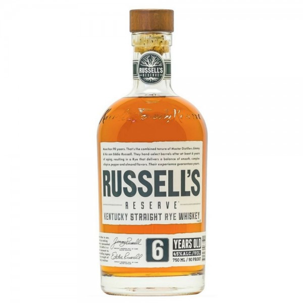 Russell's Reserve - 6 Year Old Rye 750ml