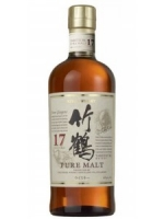 Nikka Whisky 17 Years Old Pure Malt Taketsuru Whisky 700ml