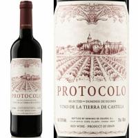 12 Bottle Case Dominio de Eguren Protocolo Vino de la Tierra de Castilla Tempranillo 2018