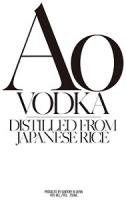Ao Vodka 750ml