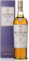 The Macallan Fine Oak Scotch Single Malt 18 Year 750ml