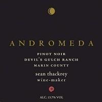 Sean Thackrey Pinot Noir Devil's Gulch Ranch Andromeda 750ml
