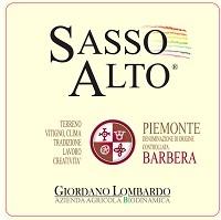 Giordano Lombardo Piemonte Barbera Sasso Alto 750ml