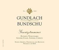 Gundlach Bundschu Gewurztraminer 750ml