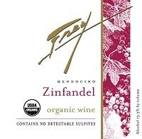 Frey Vineyards Organic Zinfandel 750ml