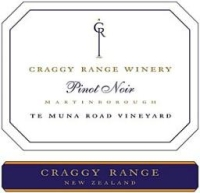 Craggy Range - Pinot Noir Te Muna Road Vineyard 2015 750ml