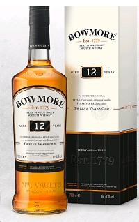 Bowmore Scotch Single Malt 12 Year 750ml