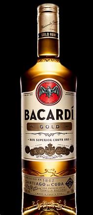 Bacardi Rum Gold 1L