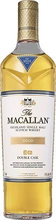 The Macallan Scotch Single Malt Double Cask Gold 750ml