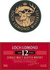 Loch Lomond Scotch Single Malt 12 Year 750ml