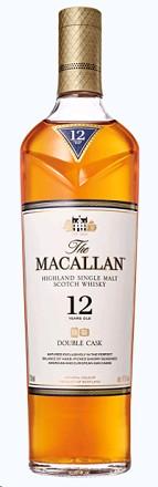 The Macallan Scotch Single Malt 12 Year Double Cask 750ml