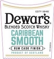 Dewar's Scotch 8 Year Caribbean Smooth 750ml