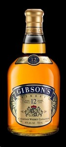 Gibson's Finest Canadian Whisky 12 Year 750ml