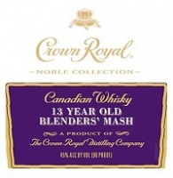 Crown Royal Canadian Whisky Noble Collection 13 Year Blenders' Mash 750ml