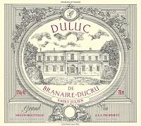 Duluc De Branaire-ducru Saint Julien 375ml