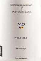 Maine Beer Company - Mo Pale Ale