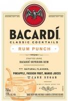Bacardi Classic Cocktails Rum Punch 1.75L