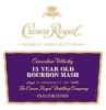 Crown Royal Canadian Whisky Noble Collection 13 Year Bourbon 750ml