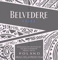 Belvedere Vodka Red Laolu Senbanjo Edition 1.75L