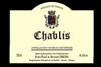Jean-paul & Benoit Droin Chablis 750ml