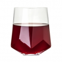 Faceted Crystal Wine Glasses by Viski