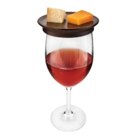 Wine Glass Topper Appetizer Plates by Twine