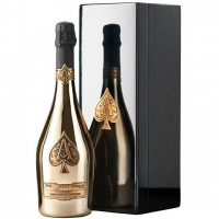 Armand de Brignac - Ace of Spades Brut Gold Champagne (Wooden Box) NV (12L)