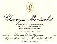 Domaine Blain-gagnard Chassagne-montrachet La Boudriotte 750ml
