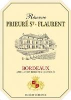 Reserve Prieure St-flaurent Bordeaux 750ml