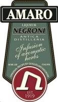 Negroni Liqueur Amaro 1L
