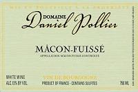 Daniel Pollier Macon-fuisse 750ml