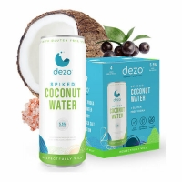 Dezo Spiked Coconut Water Cocktail 355ml 4-Pack