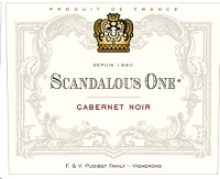 Scandalous One Cabernet Noir 750ml