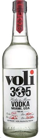 Voli Vodka 305 Miami