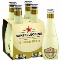 Sanpellegrino Ginger Beer 200ml 4-Pack