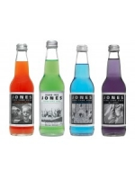 Natural JONES bottled sodas, 12 fl.oz.