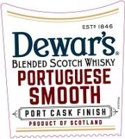 Dewar's Scotch Portuguese Smooth Port Cask 750ml
