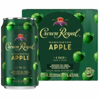 Crown Royal Washington Apple Ready To Drink Cocktail 4-Pack 12oz Cans