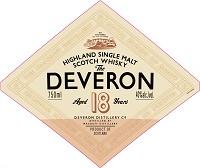 The Deveron Scotch Single Malt 18 Year 750ml