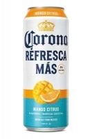 Corona Refresca Mas Tropical Cocktail Mango Citrus Flavor 24oz Can