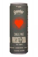Greenbar Single Malt Whiskey Soda Sparkling Cocktail 4x12oz Cans
