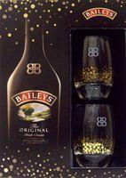 Baileys Irish Cream Gift Set with 2 Cocktail Glasses | Liquor ...