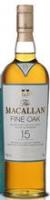 Macallan 15 Year Old Fine Oak Single Malt Scotch 750ml Rated 96-100WE