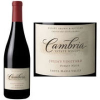 Cambria Julia's Vineyard Santa Maria Pinot Noir 2012 Rated 91WE
