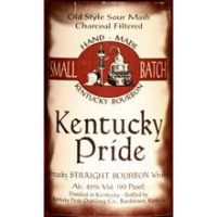 Kentucky Pride Straight Bourbon Whiskey 750ml