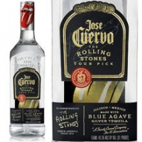 Jose Cuervo Rolling Stones Tour Pick Silver Tequila 750ML