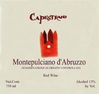 Capestrano Montepulciano d'Abruzzo 2013
