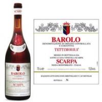 Scarpa Barolo Tettimorra DOCG 2001