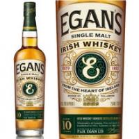 Egan's 10 Year Old Single Malt Irish Whiskey 750ml